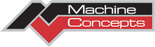 Logo for Machine Concepts, Minster, Ohio, metal processing equipment builder